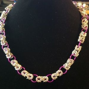 Chainmaille Byzantine Necklace